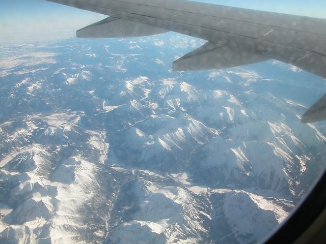 Alps from plane01, Nikon E5700