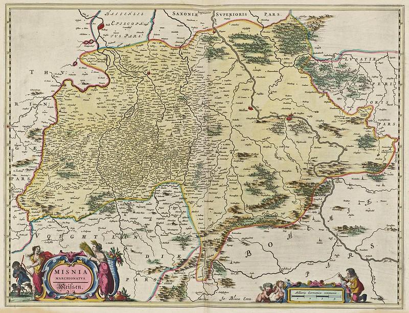 Joan Blaeu - Misnia Marchionatvs (1665)
