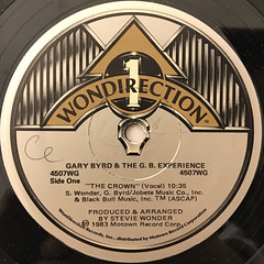 GARY BYRD AMD THE G.B. EXPERIENCE:THE CROWN(LABEL SIDE-A)