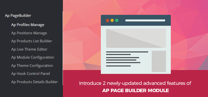 introduce 2 newly-updated advanced features of Ap Page Builder module