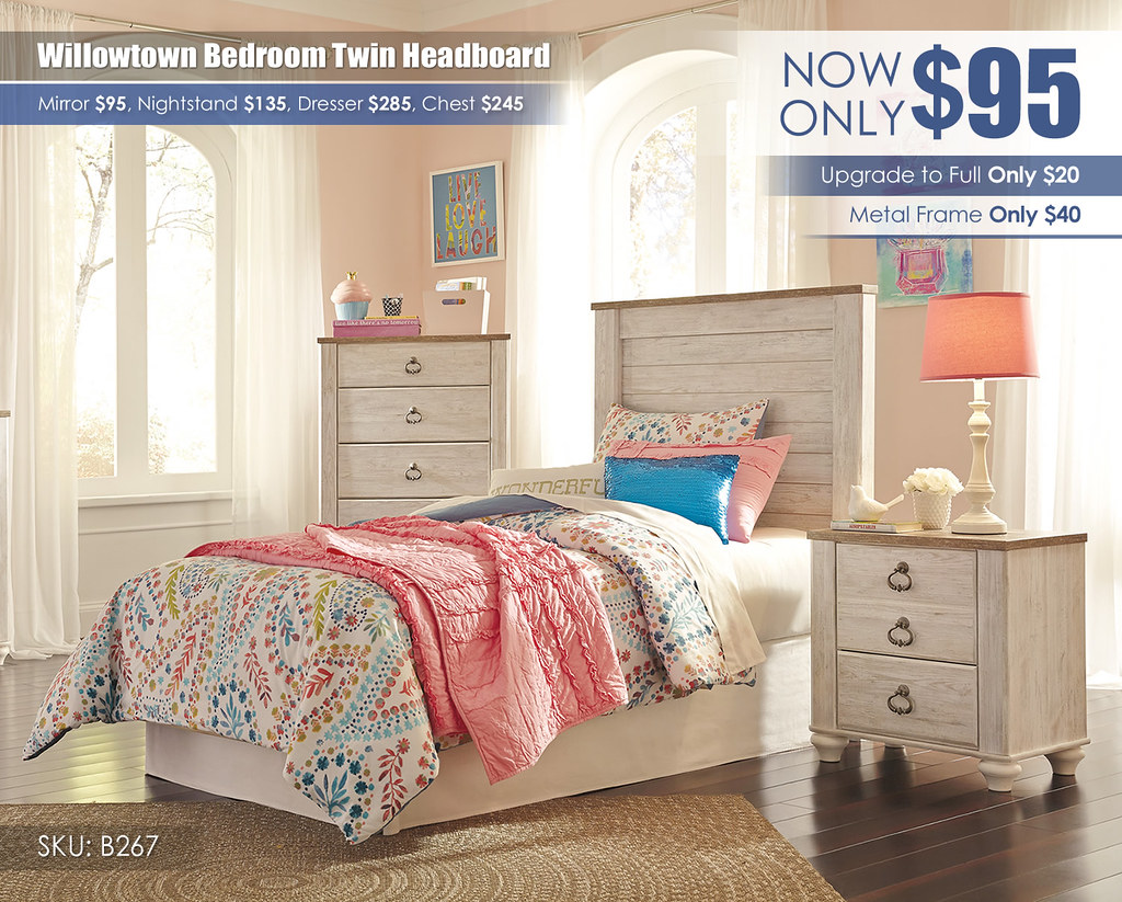 Willowtown Headboard Special_B267