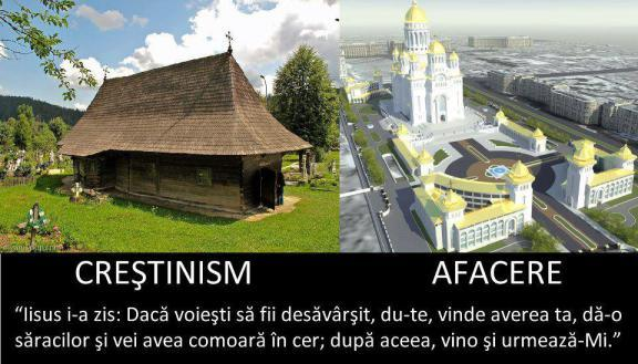 Crestinism versus afacere