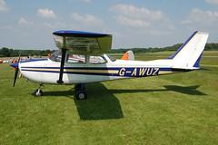 G-AWUZ Reims-Cessna F172H (0587) Popham 080608