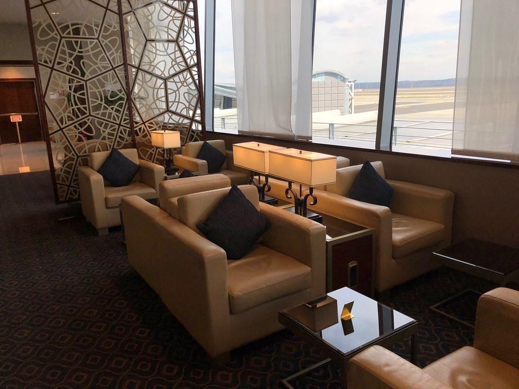 Emirates Lounge Milan MXP 40