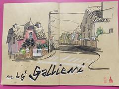 Rue du Général Galieni à Quimperlé le 16 avril 2018