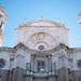 Cadiz Cathedral facade.