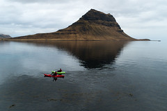 Kayaking in Iceland