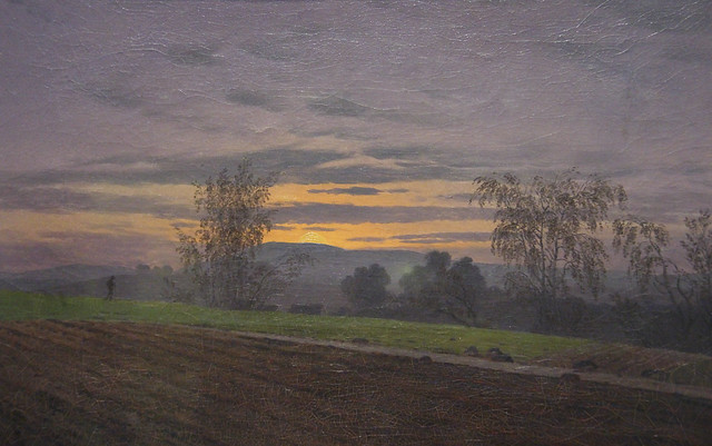 Detail - Ploughed Field, Casper David Friedrich, c.1830