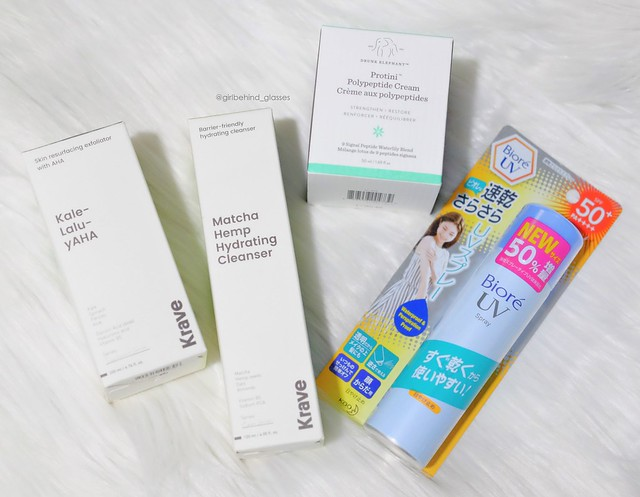 Low buy skincare haul for first quarter of 2018
