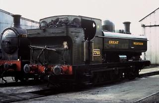 91-157  Tysley's ex-GWR 57XX 0-6-0PT No. 7750 at Loughborough