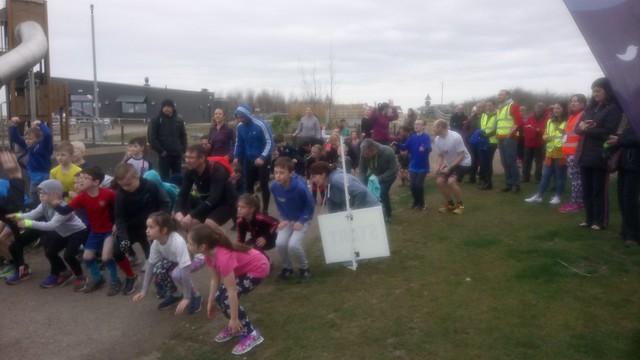 Gedling junior parkrun 8th April 2018