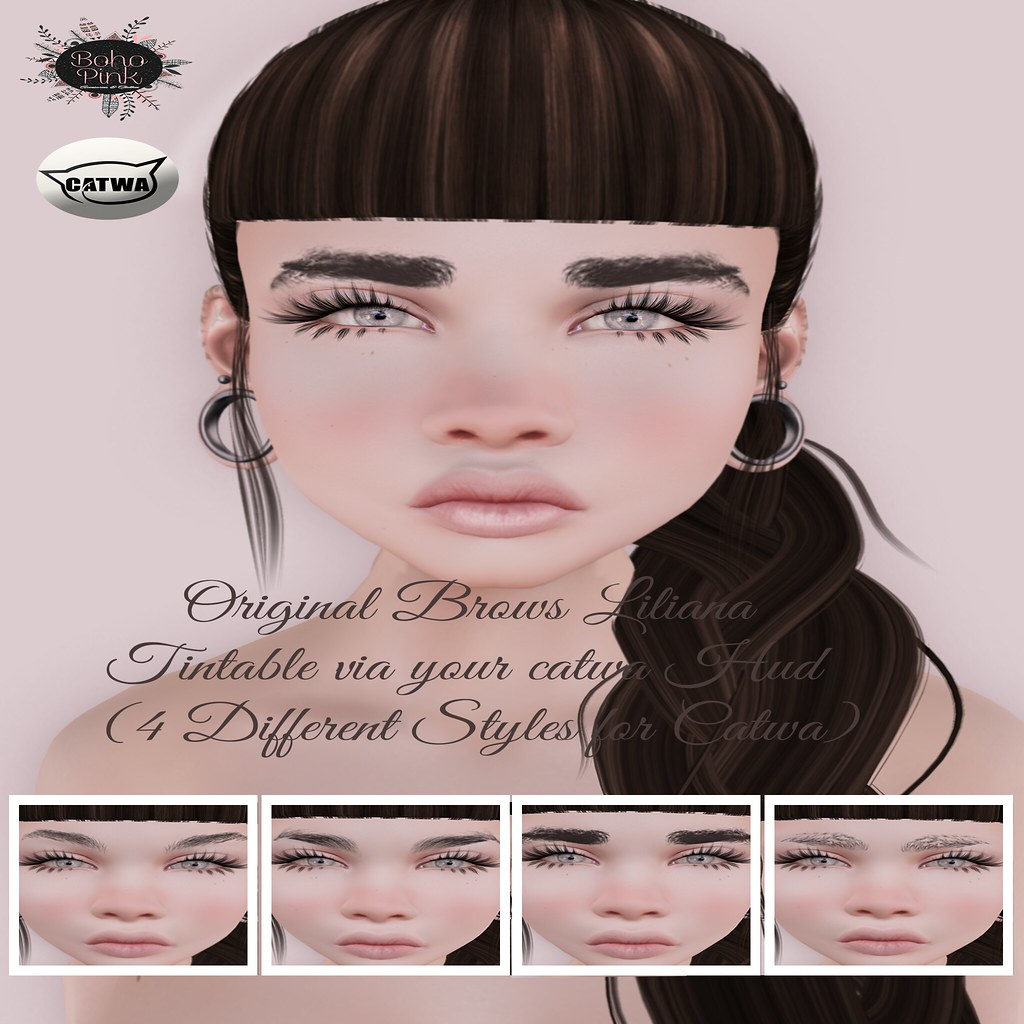 Boho Pink Eyebrow Liliana (Catwa) NEW!!!