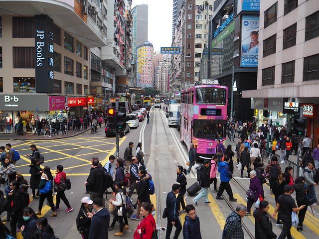 P2096213 香港トラム hongkong 運賃 香港島 ひめごと