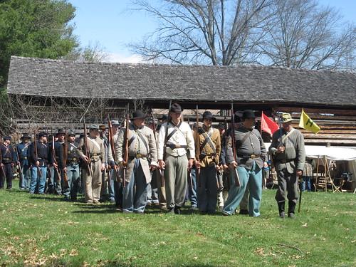 Civil War re-enactment Johnson City TN.
