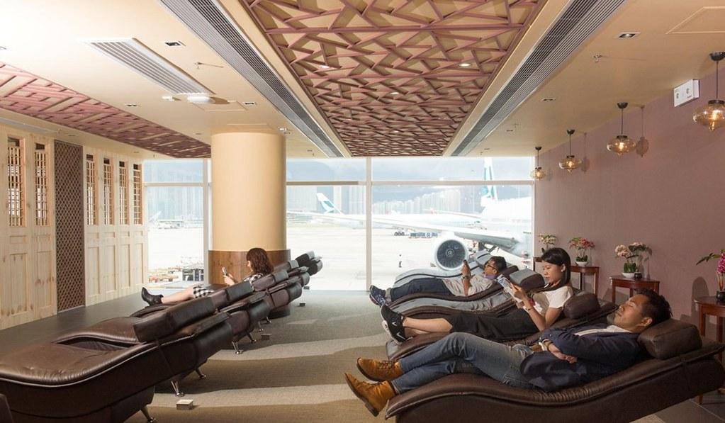Chek Lap Kok Airport, Hong Kong, Tiongkok.