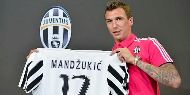 Ada Kabar Manchester United Sangat Minati Dengan Mario Mandzukic,Ini Pernyataan Juventus