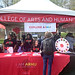 The University of Maryland- College Park celebrated the 20th anniversary of their annual Maryland Day on April 28, 2018. The College of Arts and Humanities showcased our fearless ideas through creative learning, exploration and fun. ARHU offered many games and activities that current and prospective students, parents, alumni, families, friends, local businesses and community residents participated in. Maryland Day 2018 welcomed over 75,000 guests and brought the UMD community together.