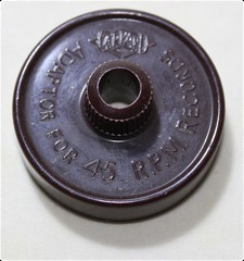 Garrard Record Adaptor Brown