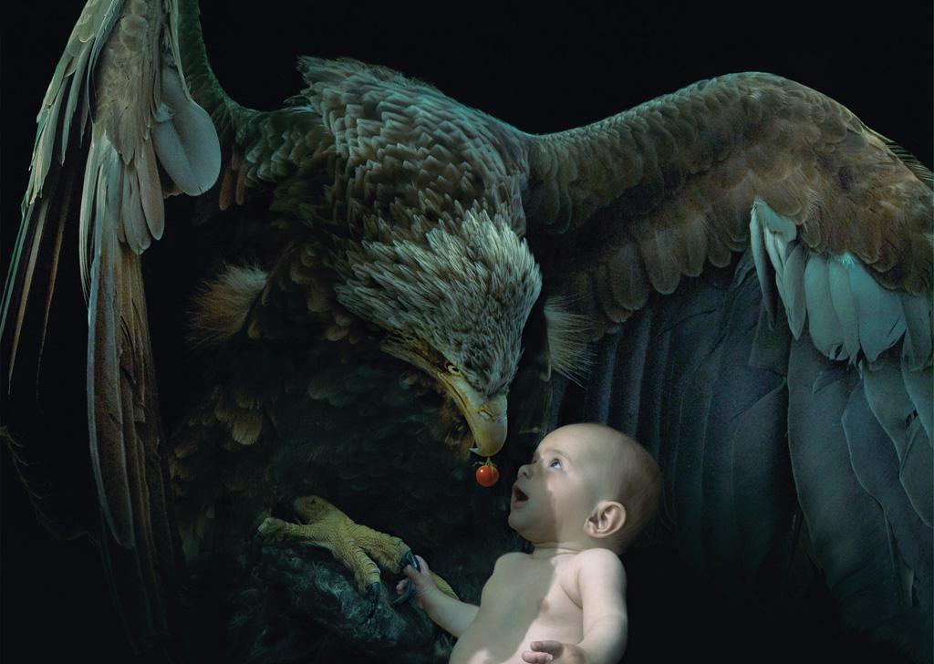 orzel-dziecko