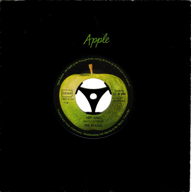 1 - Apple 1 - Beatles, The - Hey Jude - D - 1968