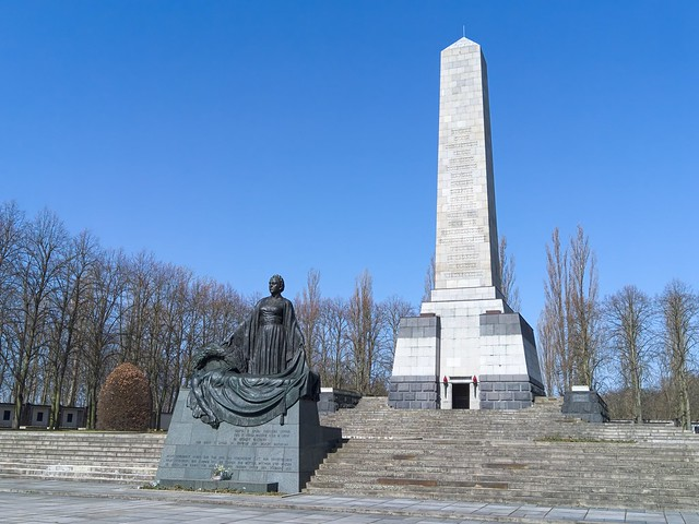 Soviet War Memorial in Schönholzer Heide