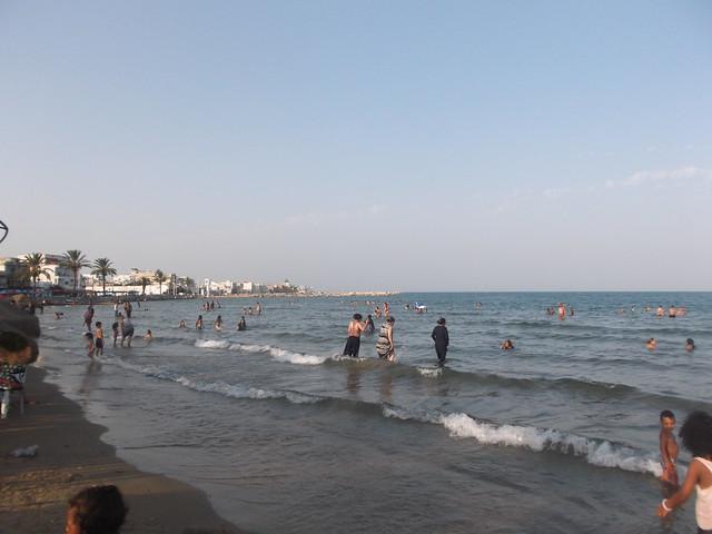 Beach of La Goulette, Fujifilm FinePix JX600