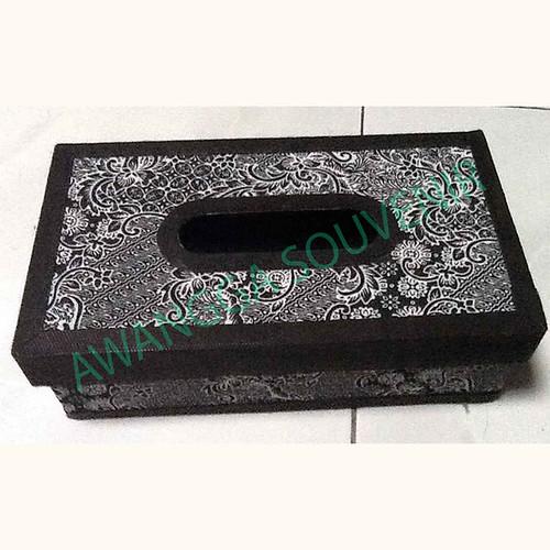 kotak tisu batik besar
