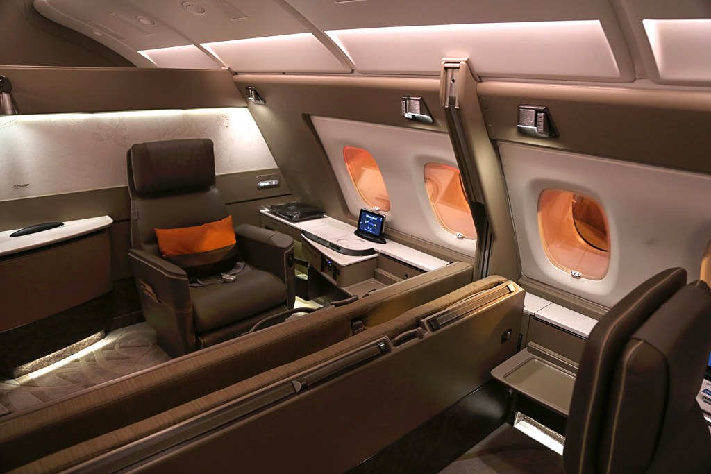 Singapore Airlines First Class Suites 16