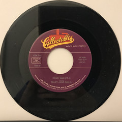 MARY JANE GIRLS:CANDY MAN(RECORD SIDE-B)