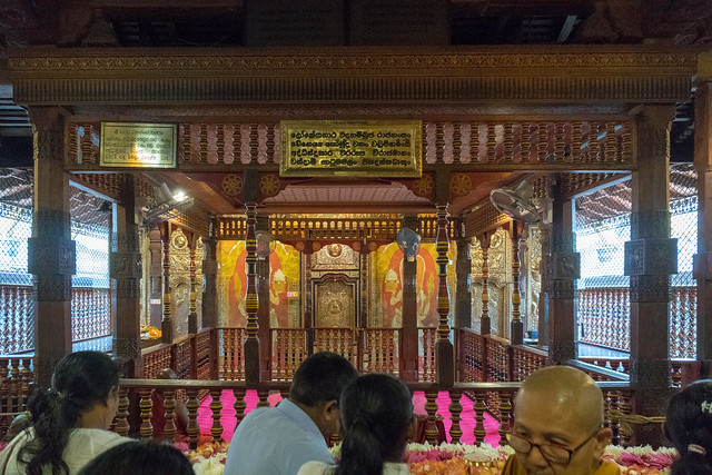 Sri Dalada Maligawa (Temple of the Holy Tooth)