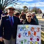 Protect kids not guns rally at Leisure World