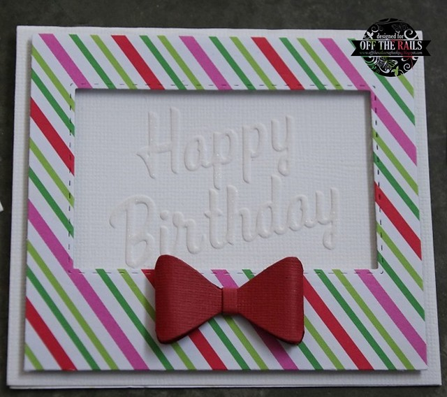 """Happy Birthday"" Card"