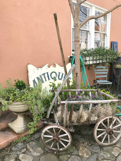 Antique Goat Cart-Housepitality Designs