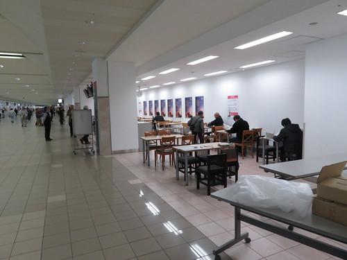 福島競馬場のテーブルシート