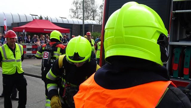 Brandweer wedstrijd Bergen 140418