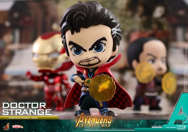 連無限手套也Q 版化實在太有趣啦~! Hot Toys - COSB437-470《復仇者聯盟3:無限之戰》Avengers: Infinity War Cosbaby (S) Bobble-Head Series