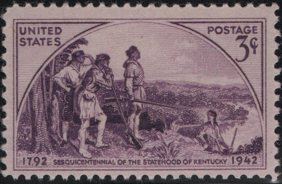 United States - Scott #904 (1942) darker violet shade