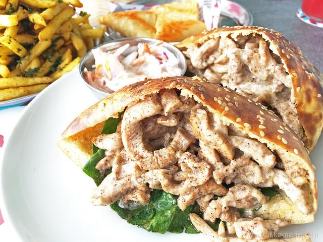 Chicken Shawarma Khameer from Logma