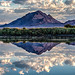 Frenchman Mountain Morning Reflection by James Marvin Phelps