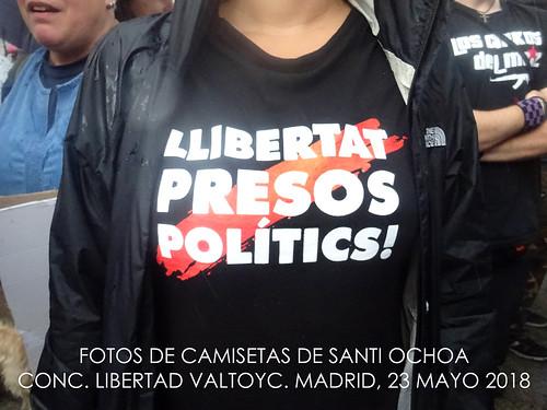 Conc. Libertad Valtonyc. mayo 2018