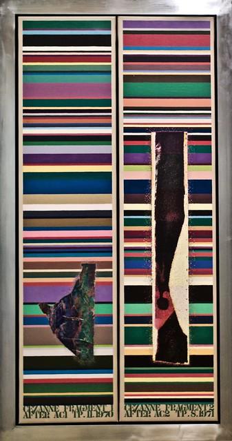 Cézanne Fragments 1 & 2 (1970-1971) - Tom Philips (1937)