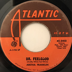ARETHA FRANKLIN:RESPECT(LABEL SIDE-B)