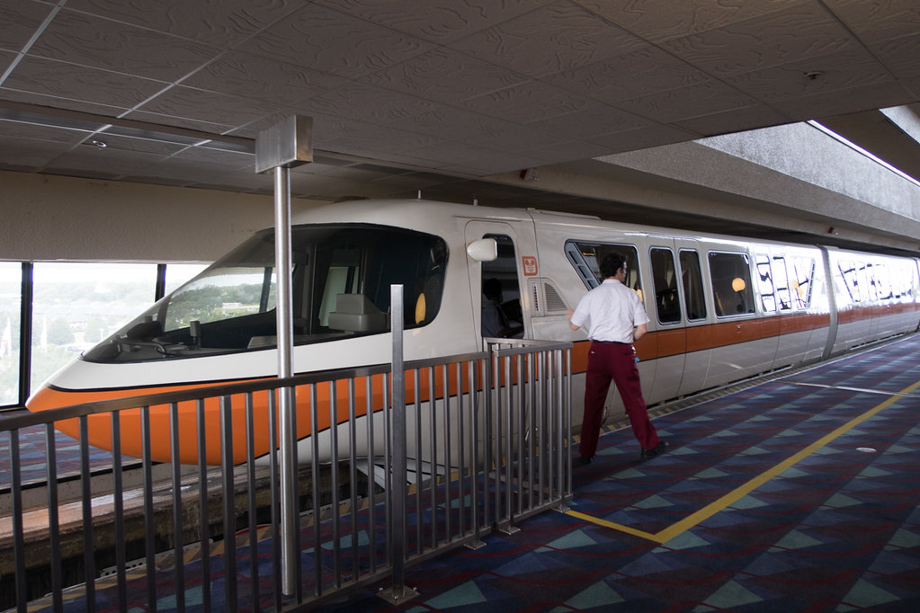 Disney Monorail Exterior