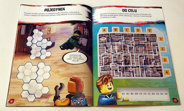 LEGO® NINJAGO®. Wyzwania z naklejkami. Uliczne pojedynki (5)