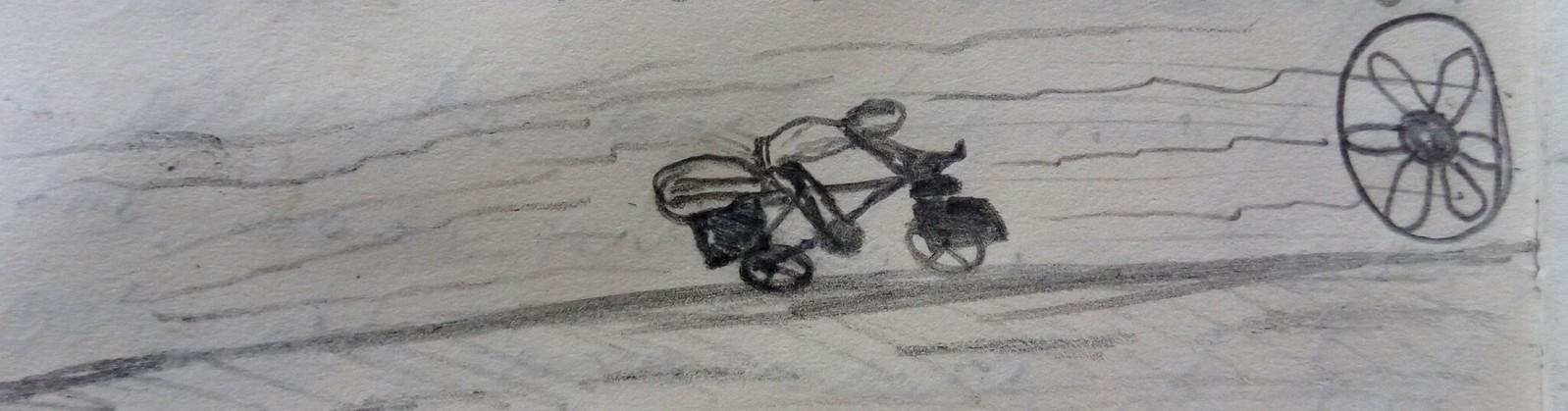 desenho do diário