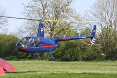 G-OAUD Robinson R44 [1467] Popham 050518