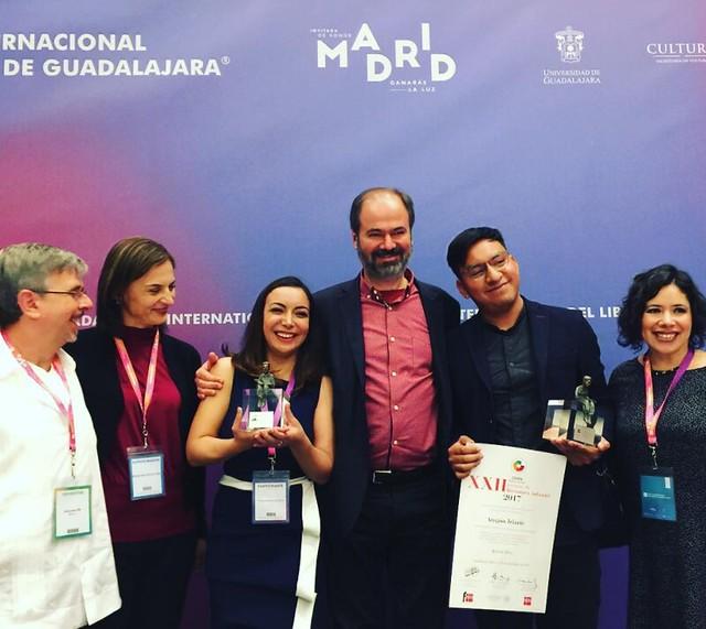 Entrega de premios El Barco de Vapor y Gran Angular 2017