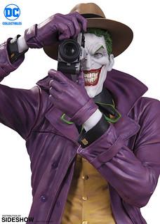 令人不寒而慄的笑容再登場!! DC Collectibles DC 設計師系列【小丑by Brian Bolland】The Joker by Brian Bolland Mini Statue 全身雕像作品