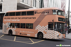 Wrightbus NRM NBFL - LTZ 1193 - LT193 - Bumble - Victoria 38 - Arriva London - London 2018 - Steven Gray - IMG_7889