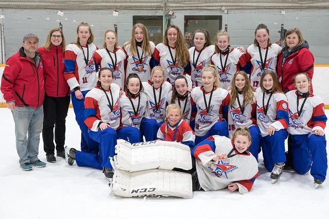 Mar 24, 2018 - Sask WCRC - U14AA Blue wins Bronze